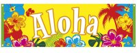 Hawaii Banner Beach Sommer Sonne Strandparty Dekoration